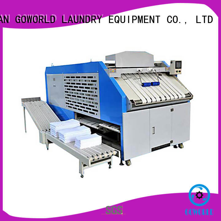 GOWORLD automatic automatic towel folder intelligent control system for textile industries