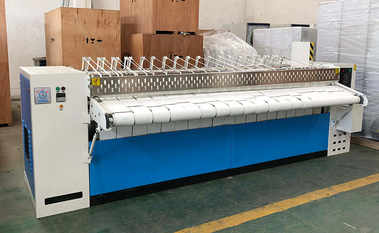 safe flat work ironer machine flatwork factory price for hospital-2