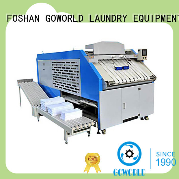 intelligent towel folding machine laundry efficiency for textile industries