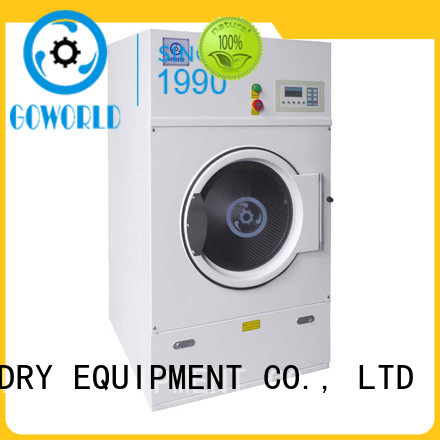GOWORLD high quality industrial tumble dryer for high grade clothes for inns