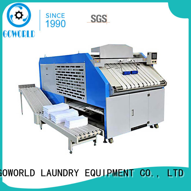 GOWORLD automatic towel folder factory price for laundry factory