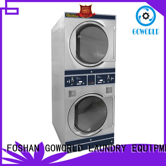 GOWORLD safe use self-service laundry machine manufacturer for service-service center