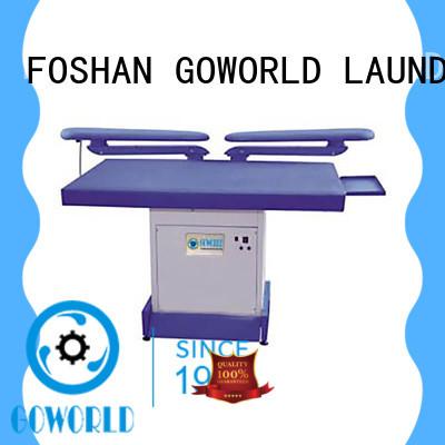 GOWORLD garment laundry press machine for hotel