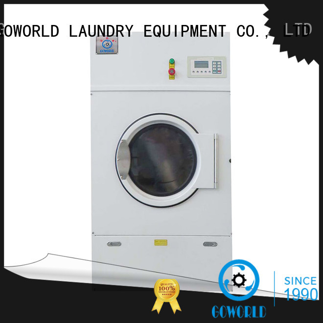 GOWORLD Stainless steel gas tumble dryer simple installation hospital