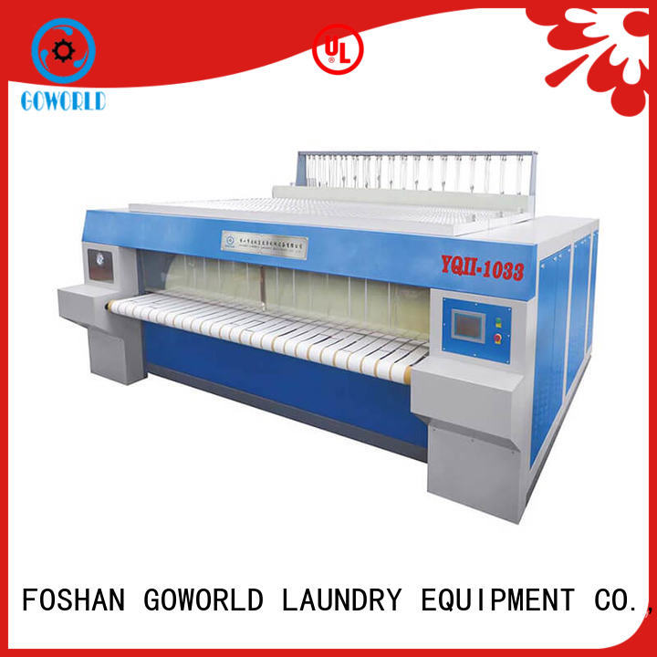 GOWORLD ironer flat work ironer machine easy use for inns