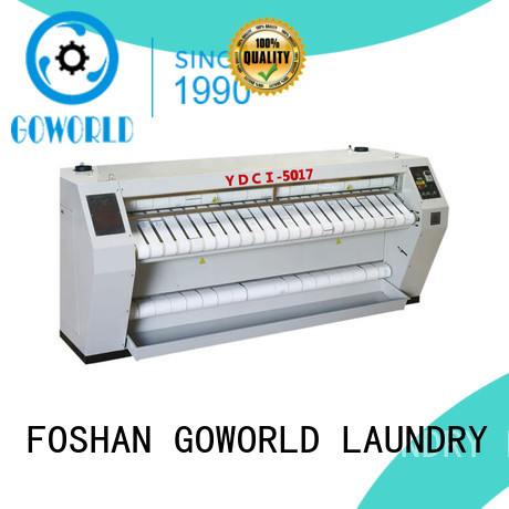 GOWORLD Brand heating plant hotel flatwork ironer manufacture