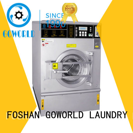 GOWORLD 8kg12kg coin operated stackable washer and dryer for hotel