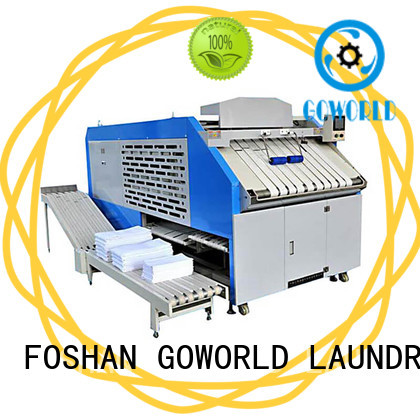 textile towel folder efficiency for laundry factory GOWORLD
