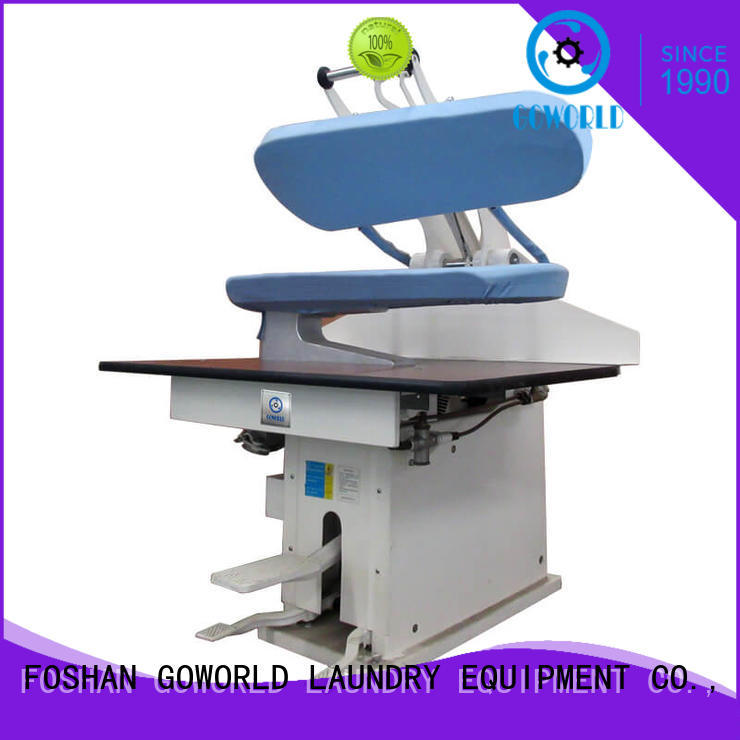 laundry grade finishing laundry press machine GOWORLD Brand company