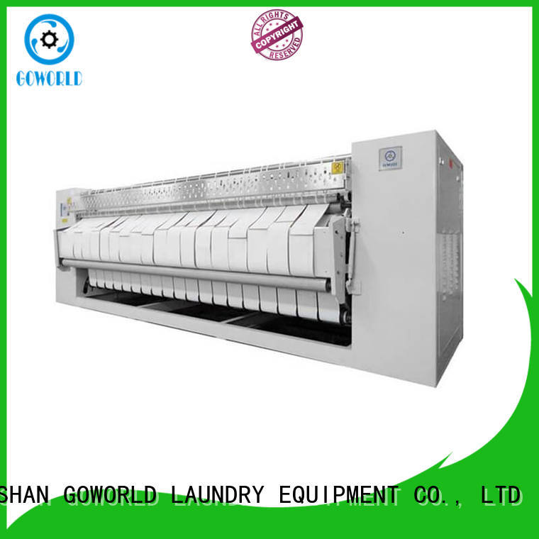 high quality flat roll ironer roller free installation for hospital