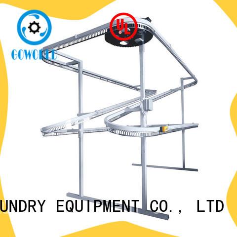 machine laundry conveyor supply for school GOWORLD