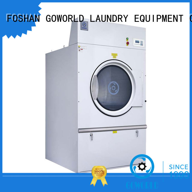 GOWORLD Stainless steel gas tumble dryer natural for laundry plants