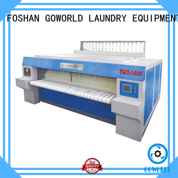 GOWORLD high quality industrial ironer textile for hospital