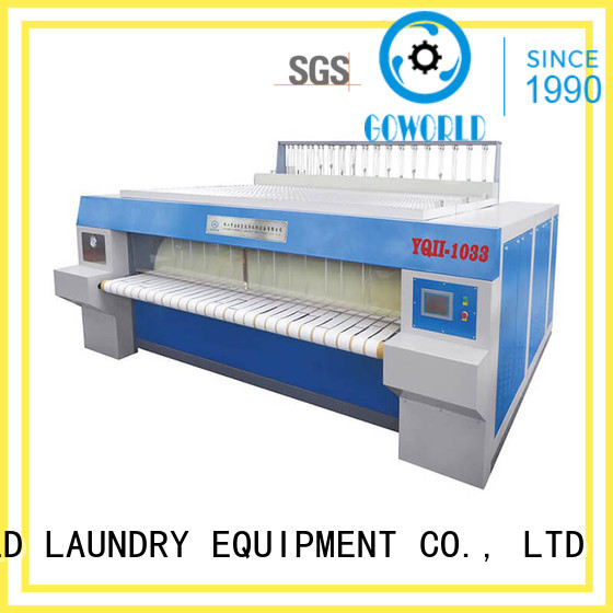 hotel bed sheet ironing machine roller hotel GOWORLD