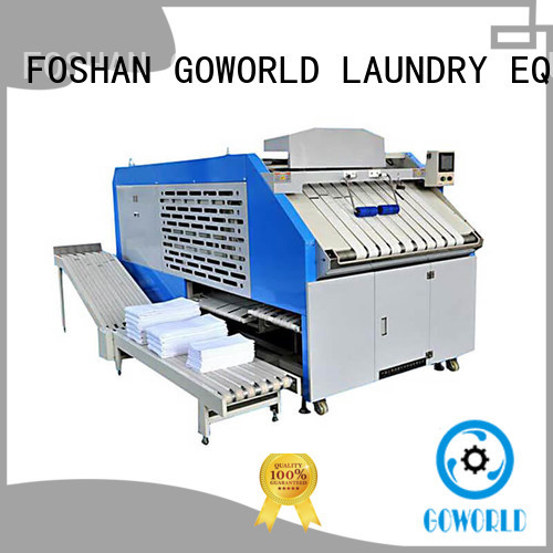 safe fabric folding machine factory price for textile industries GOWORLD