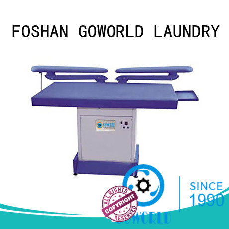 high quality industrial iron press machine skirt directly sale for hotel