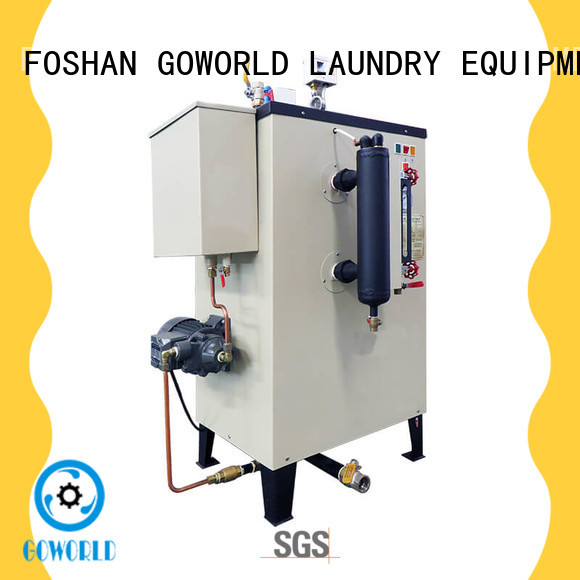 GOWORLD electric diesel steam boiler environment friendly for laundromat
