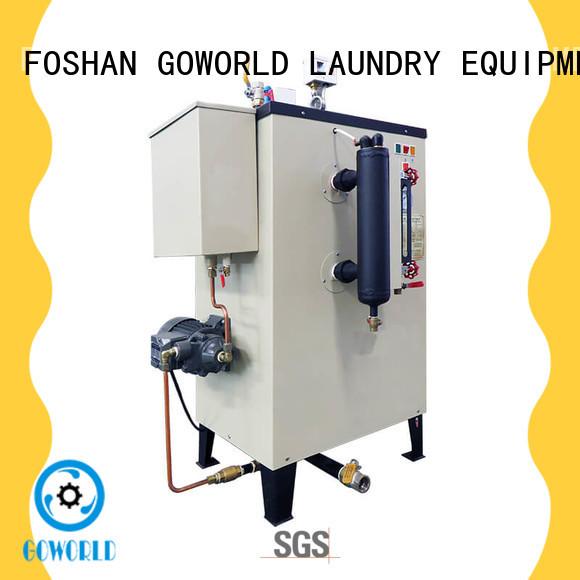 GOWORLD electric diesel steam boiler environment friendly for laundromat