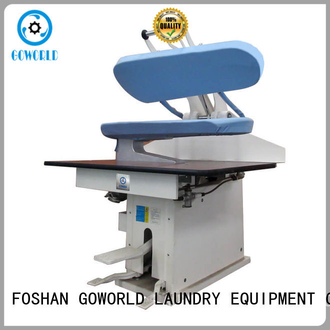 GOWORLD laundry utility press machine easy use for shop