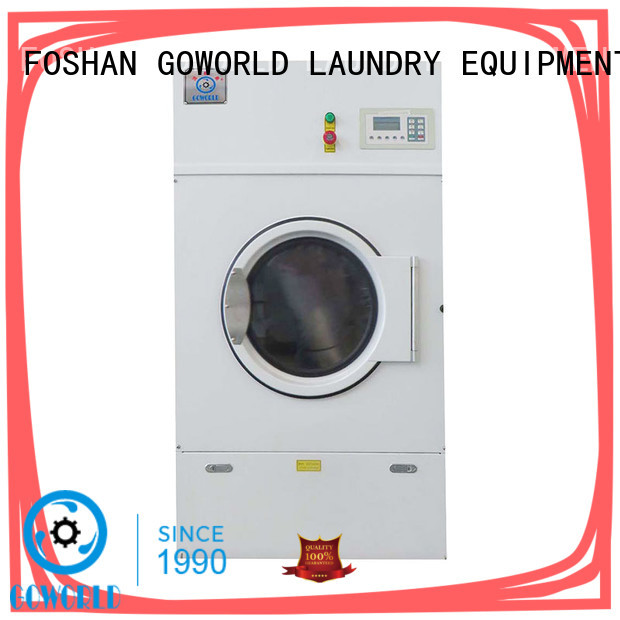 GOWORLD natural gas tumble dryer easy use for inns
