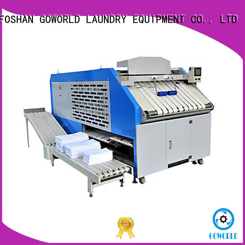GOWORLD automatic towel folder efficiency for medical engineering