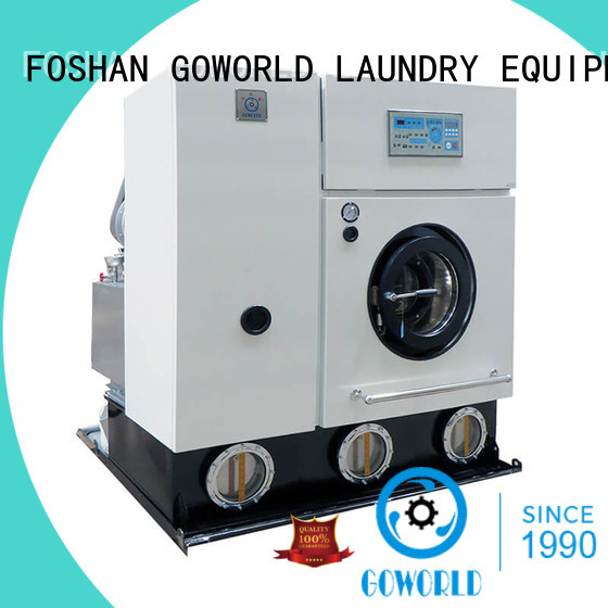 GOWORLD cleaning dry cleaning equipment for textile industries