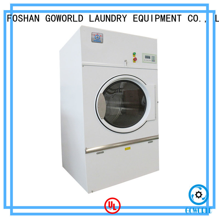 GOWORLD tablecloths gas tumble dryer for drying laundry cloth for inns