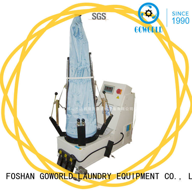series commercial laundry press machine garment for laundry GOWORLD