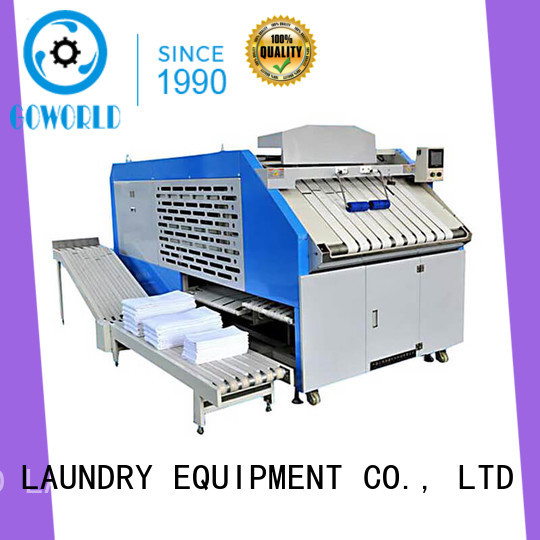 intelligent towel folding machine laundry high speed for laundry factory