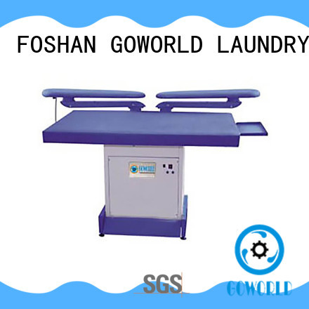 GOWORLD skirt form finishing machine easy use for railway company