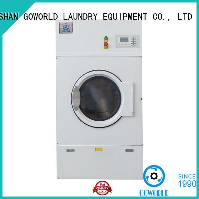 GOWORLD machine electric tumble dryer steadily for laundry plants