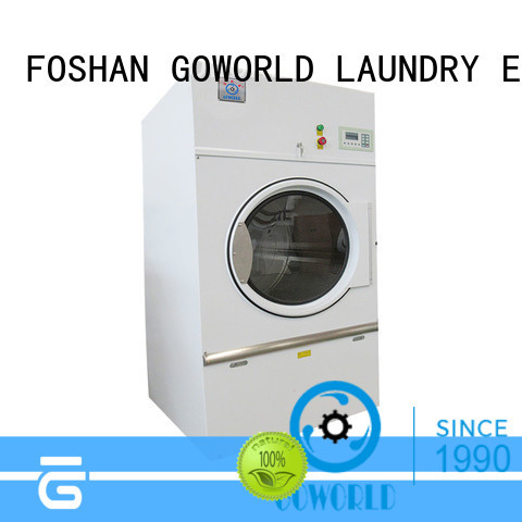 Stainless steel electric tumble dryer towels steadily for inns