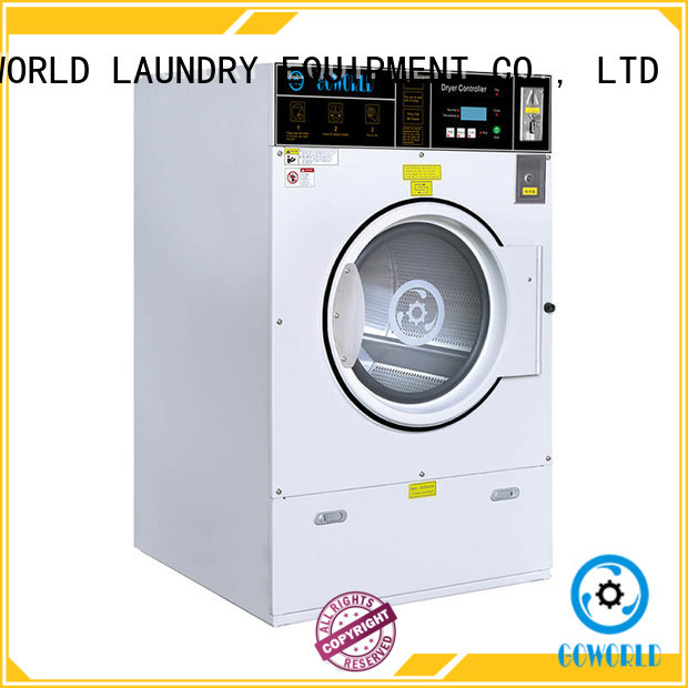 commercial self service laundry equipment LPG gas heating for service-service center GOWORLD