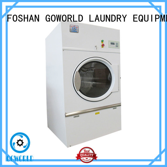 Stainless steel gas tumble dryer machine for drying laundry cloth for hospital