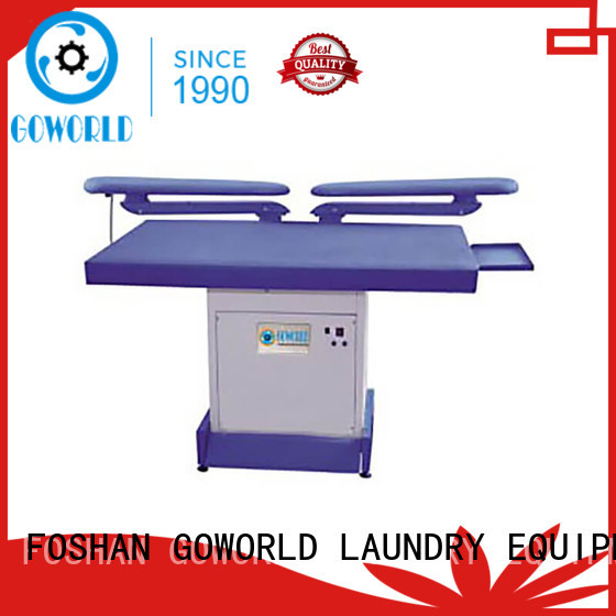 GOWORLD woman industrial iron press machine easy use for laundry