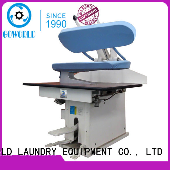 GOWORLD skirt form finishing machine Manual control for armies