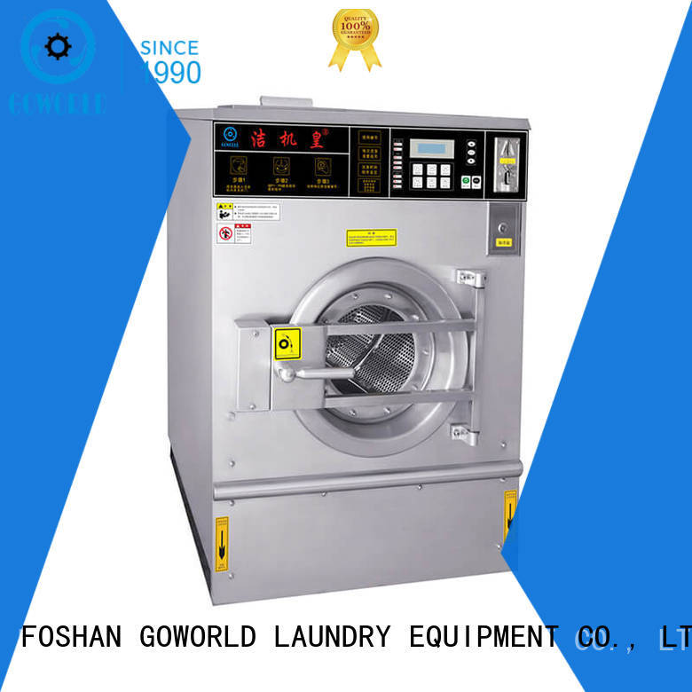 GOWORLD shopcommercial self-service laundry machine for sale for hotel