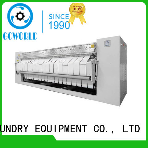 GOWORLD industries flat work ironer machine for sale for inns