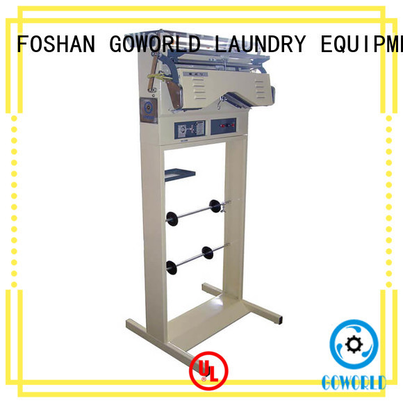 GOWORLD economical laundry packing machine supply for fire brigade