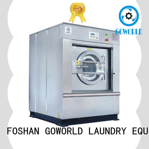 GOWORLD 8kg50kg commercial washer extractor manufacturer for inns