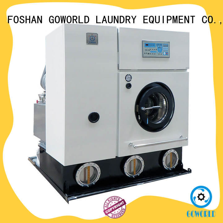 GOWORLD dry cleaning washing machine for railway company