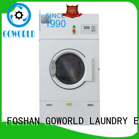 GOWORLD commercial electric tumble dryer easy use for inns