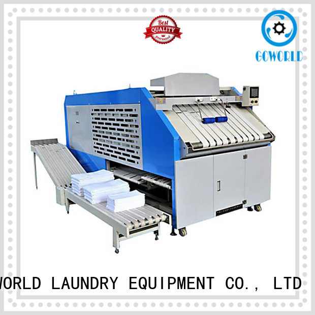 GOWORLD machine automatic towel folder factory price for laundry factory