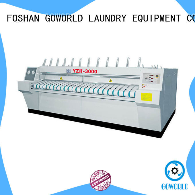 GOWORLD stainless steel ironer machine factory price for inns