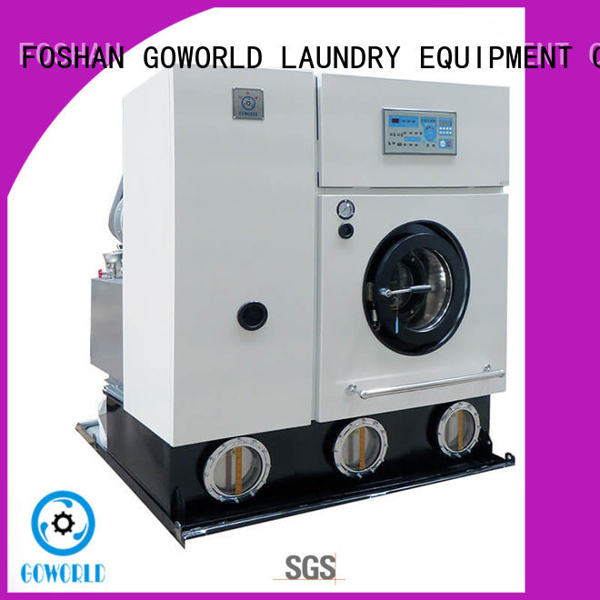 GOWORLD cleaner dry cleaning equipment China for textile industries