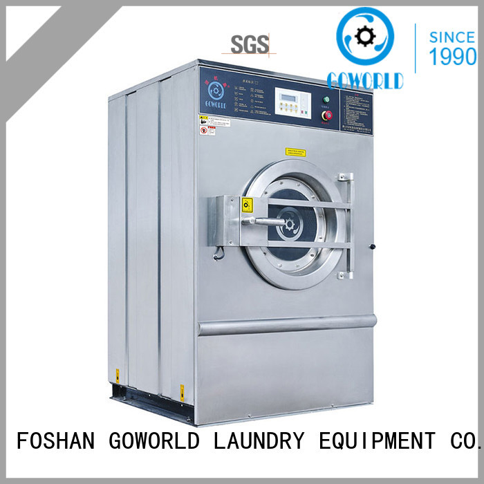 GOWORLD automatic extractor washing machine automatic for laundry plants