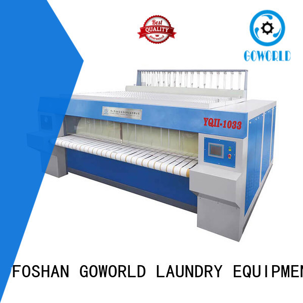 heat proof flat work ironer machine heating for sale for inns