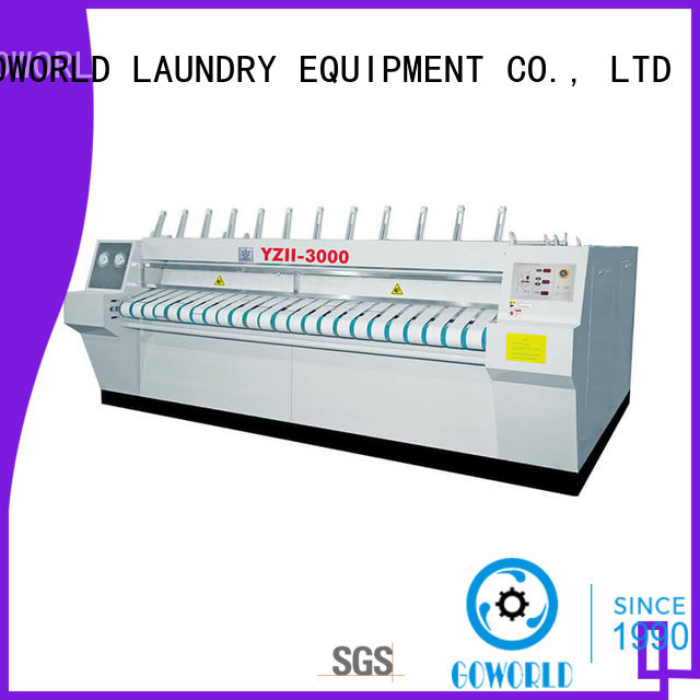 stainless steel roller ironing machine plant factory price for laundry shop