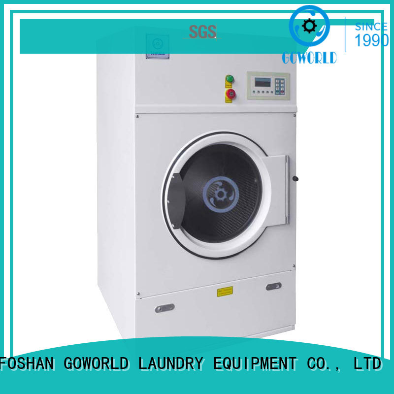 GOWORLD automatic electric tumble dryer for drying laundry cloth for laundry plants
