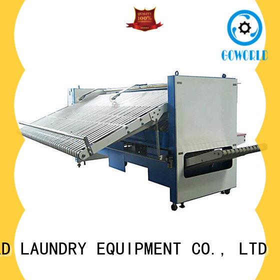 multifunction towel folding machine laundry high speed for textile industries